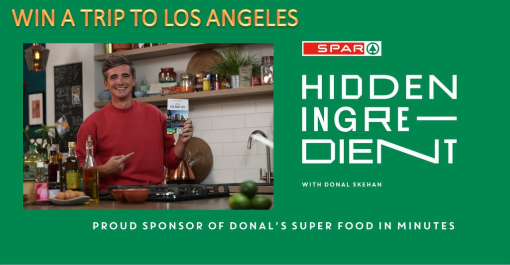 WIN a trip to LA and spend a day with your own personal tour guide - Donal Skehan