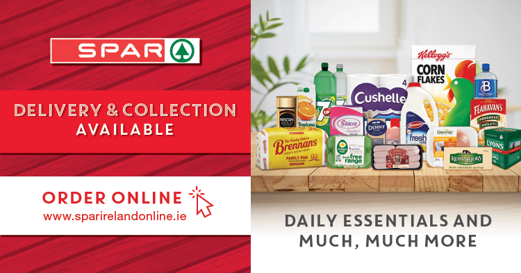 W529843 SPAR Oakpark & Caherslee Tralee Delivery 750x393px FB Carousel